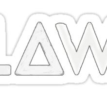 Bastille - Flaws #2 Sticker