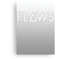 Bastille - Flaws #2 Canvas Print