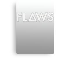 Bastille - Flaws #2 Canvas Print