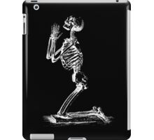 Kneeling Skeleton Print  iPad Case/Skin