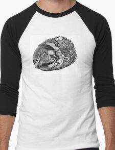 Diogenes surreal pen ink black and white drawing Men's Baseball ¾ T-Shirt