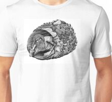 Diogenes surreal pen ink black and white drawing Unisex T-Shirt