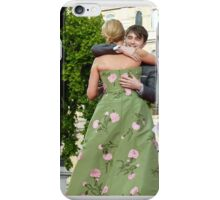 Daniel Radcliffe and J K Rowling Embrace iPhone Case/Skin