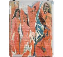 picasso graffiti # 9 iPad Case/Skin