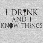 I Know Things by diettoxin