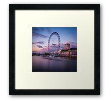 London Eye,London,UK Framed Print