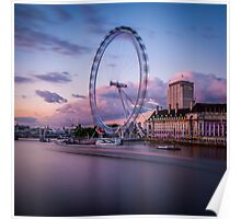 London Eye,London,UK Poster