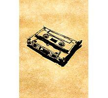 Retro Cassette Tape Photographic Print
