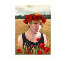 -Poppies- Art Print