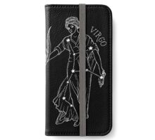 Virgo Constellation Print iPhone Wallet/Case/Skin