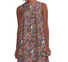 Hello A-Line Dress