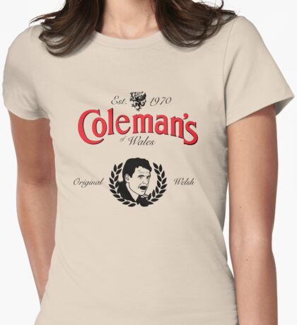 Chris Coleman Womens Fitted T-Shirt