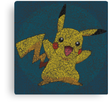 Pika pattern Canvas Print