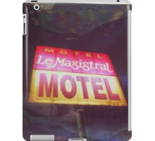 Motel iPad Case/Skin