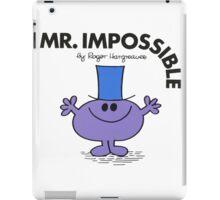 Mr. Impossible iPad Case/Skin