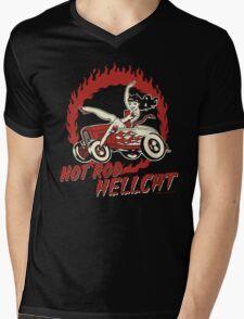 Hot Rod Hellcat Mens V-Neck T-Shirt