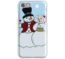 Snowcouple iPhone Case/Skin