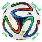 Balón copa del mundo Brasil 2014 by JoAnnFineArt