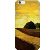 On a Country Road iPhone Case/Skin