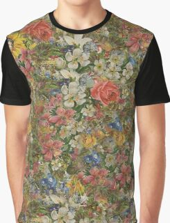 Pretty Odd Inspired Flowers Graphic T-Shirt