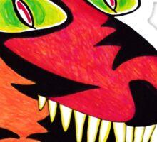 Crazy Little Devil Sticker
