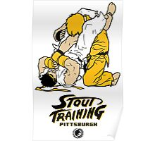 Stout Training Pgh_Street Fighter Theme Poster