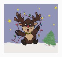 Little Reindeer Baby Tee