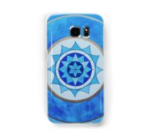 Throat Chakra Mandala Samsung Galaxy Case/Skin