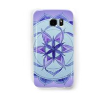 Crown Chakra Mandala Samsung Galaxy Case/Skin