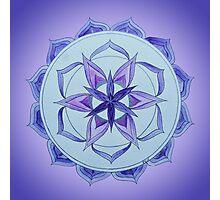 Crown Chakra Mandala Photographic Print