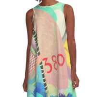 Wassersport kunst A-Line Dress