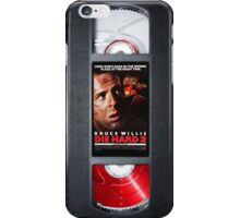 Die hard 2 vhs iphone-case iPhone Case/Skin