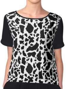 Animal Skin Chiffon Top