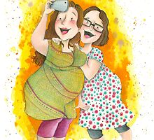 Friendship Selfie by Sanne Thijs