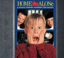 Home Alone vhs iphone-case Sticker