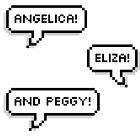 Angelica, Eliza and Peggy! by langleysmith