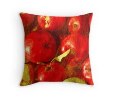 Fruits - Apple Throw Pillow