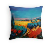Tuscan Beauty Throw Pillow