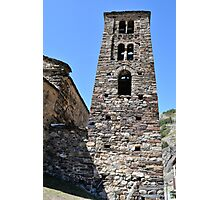 church in Andorra La Vella Photographic Print