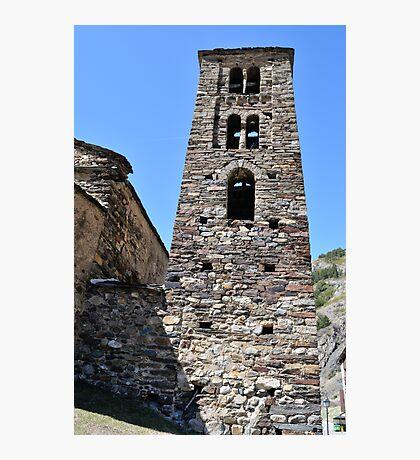 church in Andorra La Vella Photographic Print
