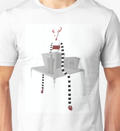 Red Horns Unisex T-Shirt
