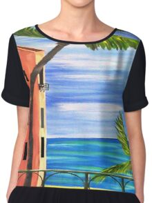 Just Open the Shutters...........Looks Like another Great Day............. Chiffon Top