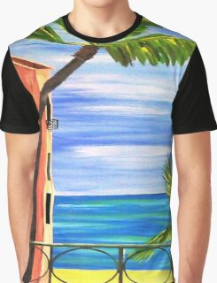 Just Open the Shutters...........Looks Like another Great Day............. Graphic T-Shirt