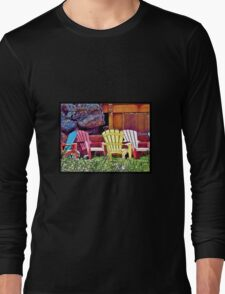 Lounge Chairs Long Sleeve T-Shirt