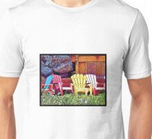 Lounge Chairs Unisex T-Shirt