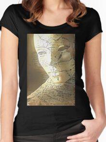 Sculpture Women's Fitted Scoop T-Shirt