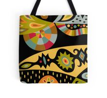 Bohemian black Tote Bag