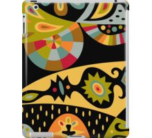 Bohemian black iPad Case/Skin