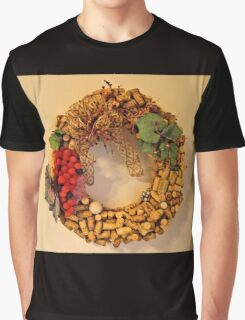 Cork Wreath Graphic T-Shirt