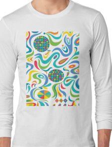 Cartwheel white Long Sleeve T-Shirt